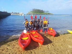 UR Lekeitio Travesía en Canoa Despedida de Soltero